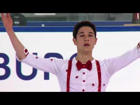 Luc ECONOMIDES FRA- Salzburg- Men Short PGM- ISU JGP 2017