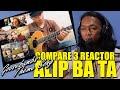 COMPARE TIGA REACTION ALIP BA TA - GOOSEBUMPS THEME SONG