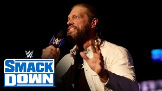 Edge Is Driven Two Days Before WrestleMania: SmackDown, April 9, 2021