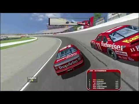 THROWBACK! NR2003: Atlanta '97 5% Full Race 90s Mod Gameplay. EP 03