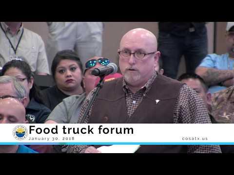 San Angelo Food truck forum 1-30-18