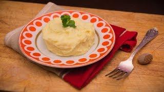 Пышное картофельное пюре - рецепт - how to cook potato mash