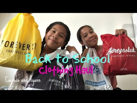 Back To School Clothing Haul 2016