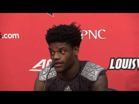 Lamar Jackson Kentucky Post-Game 11-26-2016