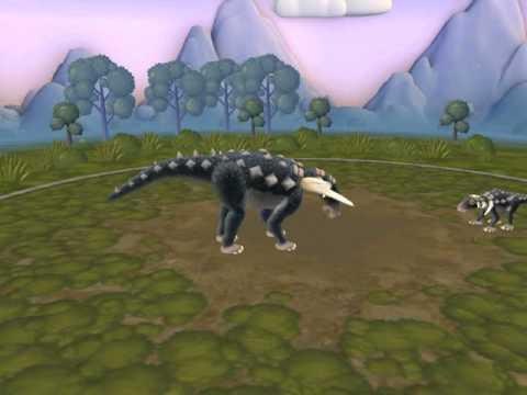 spore dinosaur Edmontonia