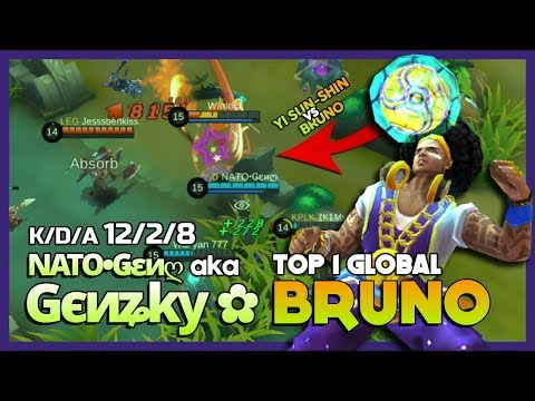 Super Shot Soccer Gєиʑky ❀ aka NATO•Ǥεиღ Ranked 1 Global Bruno ~ Mobile Legends
