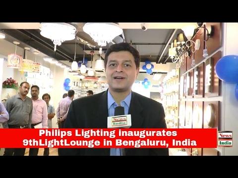 Philips Lighting inaugurates 9thLightLounge in Bengaluru, India