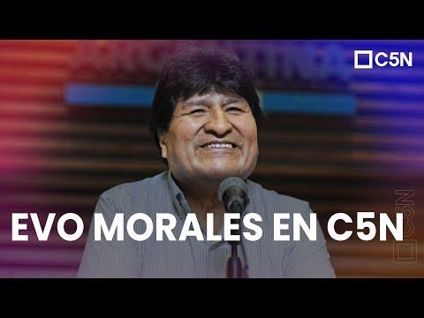 Download EVO MORALES HABLÓ CON C5N
