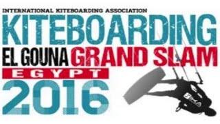 Kiteboarding El Gouna Grand Slam Egypt 2016 - Women's Final Karolina Winkowska vs Bruna Kajiya