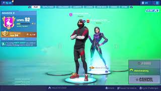 Fortnite live chill stream with giveaway at 25 subs New Clan up and rising 8 hour live stream