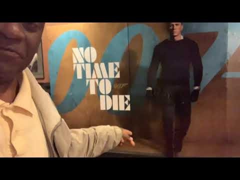 "James Bond 007 ""No Time To Die"" Display At Cinemark 17 Theaters Fayetteville GA"