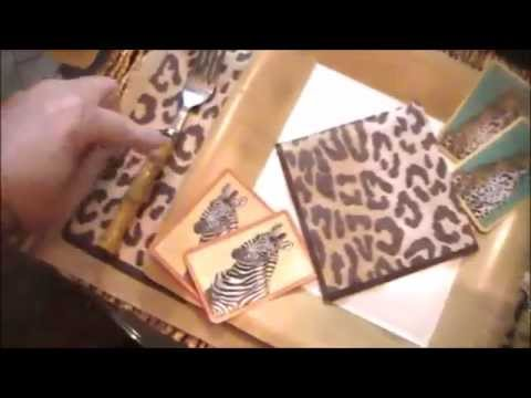 Vlog #1 Caspari table top, cards with the girls, gold spray painting