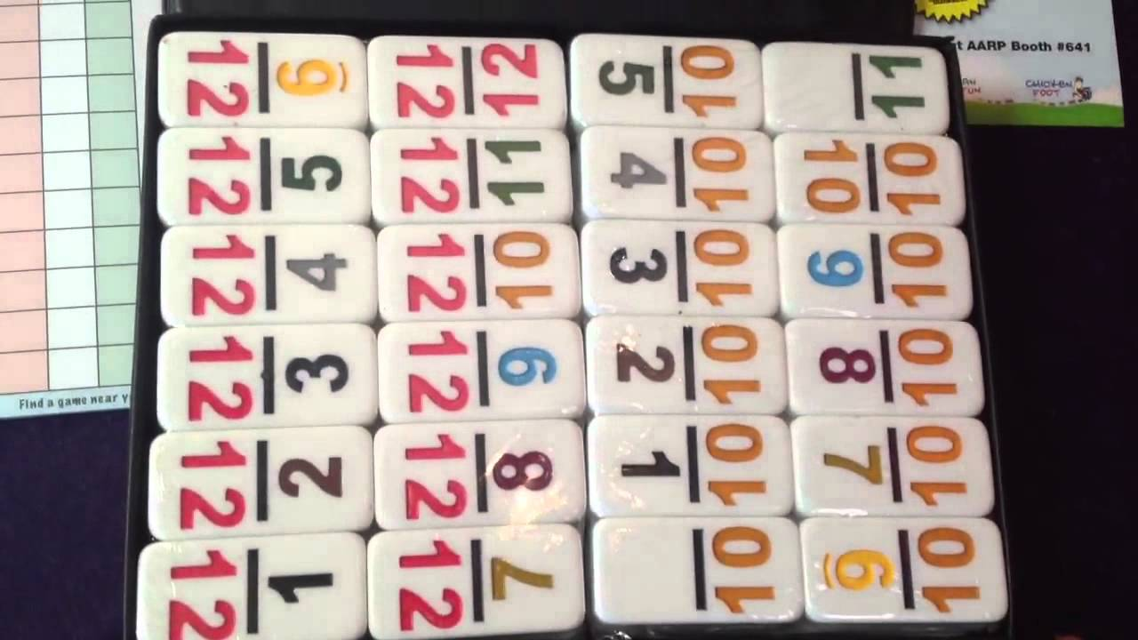 Mexican Train Dominoes Game Strategy - Double 12 number dominoes for mexican train and chickenfoot games mexican train fun