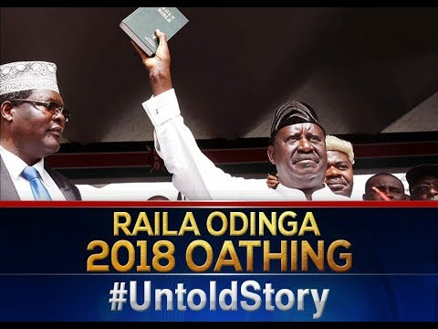 Intrigues that surrounded Raila Oding\'s swearing in ceremony | THE UNTOLD STORY