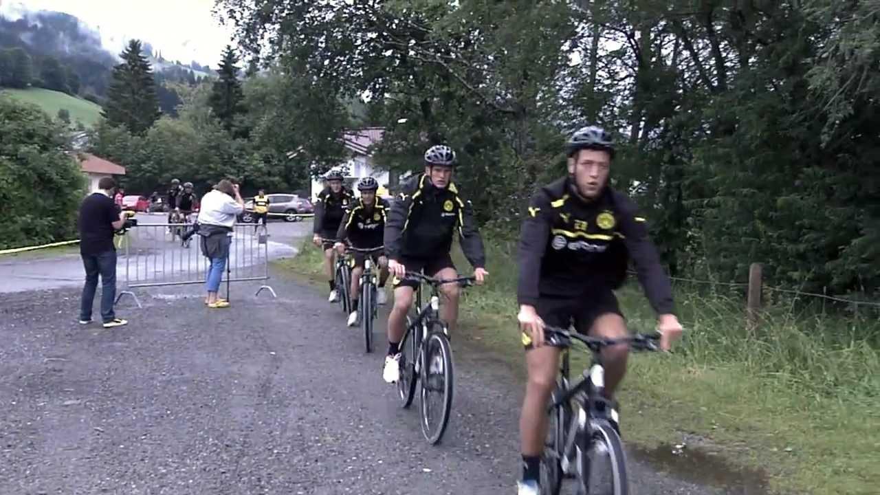 Jo wir san mim radl do - BVB Trainingslager 5. und letzter Tag Borussia Dortmund 2012