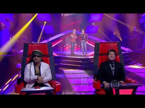The Voice Brasil - Ricardo e Ronael se apresentam na Audição