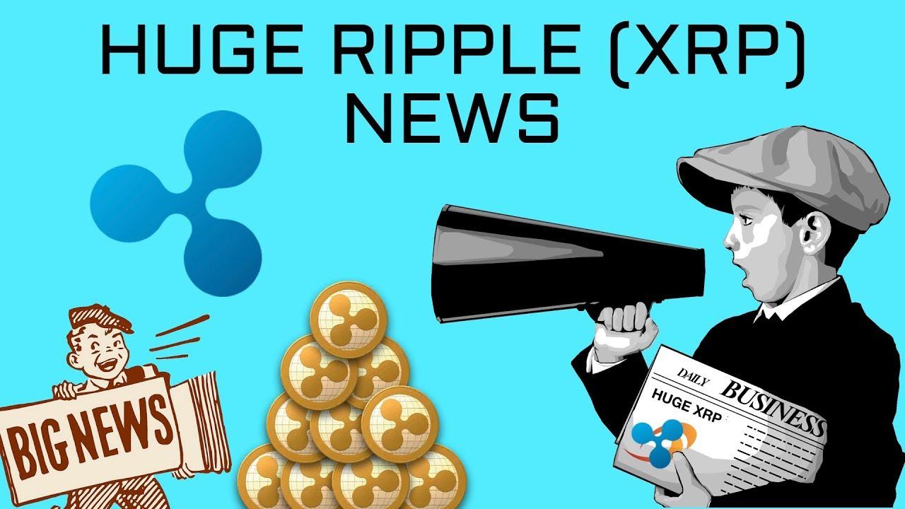 Huge Ripple XRP News Today (Big Crypto News) - YouTube