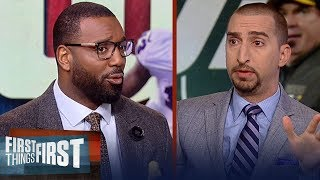 Nick and Canty on Odell Beckham Jr. trade rumors, talk NY Jets HC vacancy | NFL | FIRST THINGS FIRST