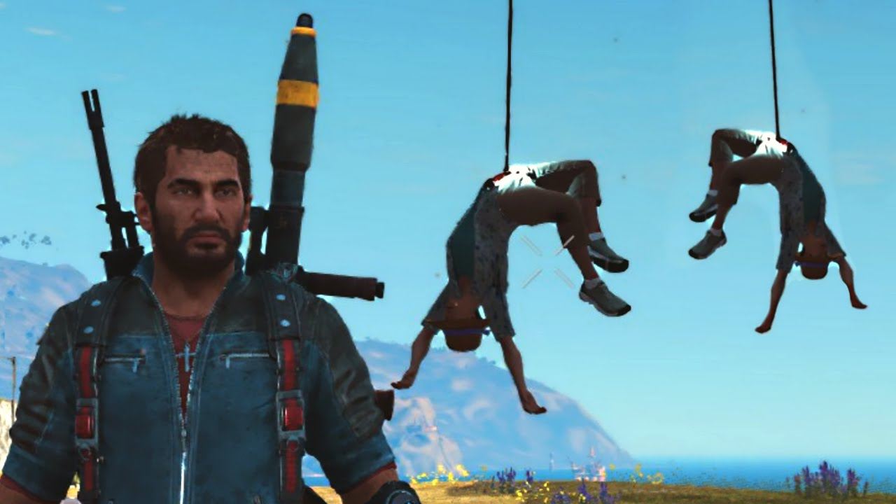 Hanging With My Friends Just Cause 3 Funny Moments -7383