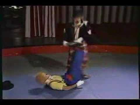 """Dead and Alive"" clown skit."