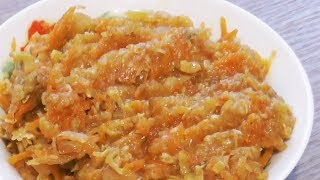 Кабачковая икра - вегетарианский рецепт