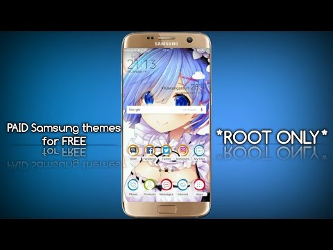 How to make / download PAID Samsung Themes for FREE *ROOT ONLY*