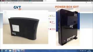 Como configurar o novo Power Box GVT - Pace V5471