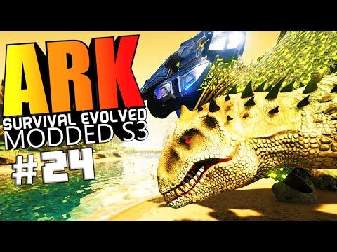 ARK Survival Evolved - BIONIC DODOREX, ULTIMATE INDOMINUS REX, WARDEN Modded #24 (ARK Mods Gameplay)