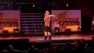 if we were a movie (live)-hannah montana
