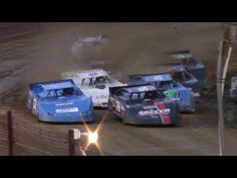 ULMS Super Late Model Heat One | Hesston Speedway | 7-1-17