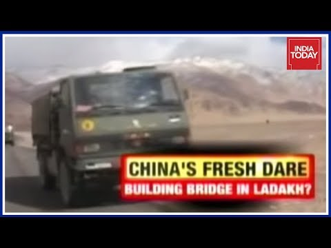 China Provokes Again ; Begins Construction In Indian Territory near Ladakh