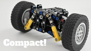 Lego Technic | Compact LEGO Steering, Drive and suspension unit