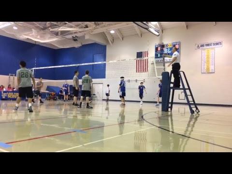 "Stevenson HS Boys Volleyball - Freshman ""A"" @ Lake Forest April 4, 2018"