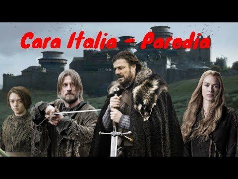 CARA WESTEROS - PARODIA CARA ITALIA (WESTEROS STORY) | (Prod. Beily)
