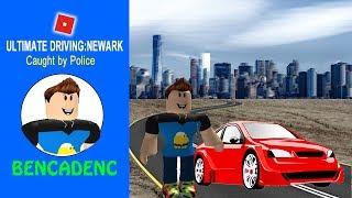 ROBLOX ULTIMATE DRIVING NEWARK | ELES LEVANTARAM MEU CARRO NA RODOVIA NEWARK!