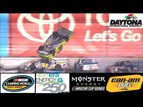 2017 NASCAR Highlights - Daytona Duels (Cup) , Nextra Energy 250 (Trucks) - 2/23 - 2/24/2017