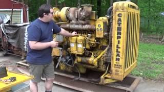 Can We Get This CAT Diesel Running?  1959 Caterpillar D337F