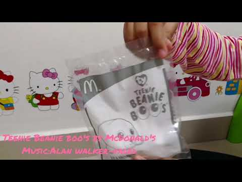 New Happy Meal Toy from McDonald's - Teenie Beanie Boo's