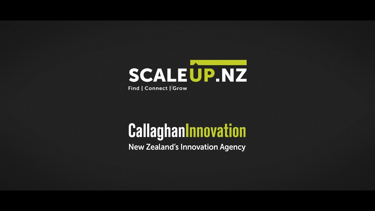 Scale-Up NZ | Callaghan Innovation