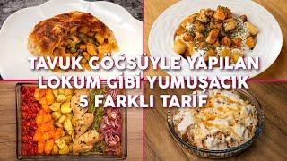 Tavuk Göğsüyle Yapılan Lokum Gibi Yumuşacık 5 Farklı Tarif (Seç Beğen!) | Yemek.com