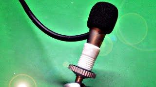почти студийный микрофон  своими руками