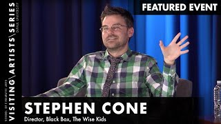 Stephen Cone, Director of Black Box and The Wise Kids
