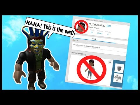 IS MY STALKER PLAYING A PRANK OR IS THIS THE END OF ZAILETSPLAY?! - Roblox