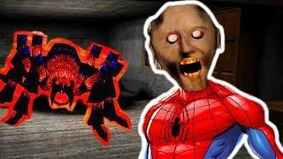 ГРЕННИ ЧЕЛОВЕК-ПАУК ! НОВАЯ БАБКА И ПИТОМЕЦ! - Granny Spider Man Mode [Гренни Мод]