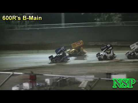 July 20, 2018 600 Restricted Mini Sprints B-Main Deming Speedway