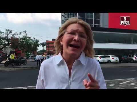 Luisa Ortega Díaz promete justicia a pemones atacados en la Gran Sabana.