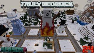Truly Bedrock Season 2 Episode 24: Snowman Build and Secret Santa