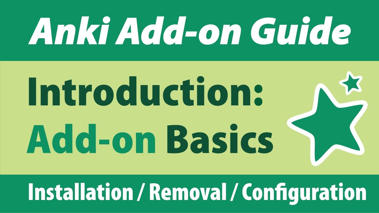 how to add add-ons to anki