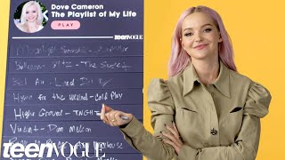 Actress and singer dove cameron creates a playlist with all of the most important songs in her life. describes that make breathe easy ...