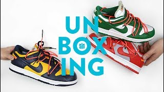 Off White Dunk Low Unboxing